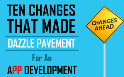 TEN TREMENDOUS CHANGES IN APP DEVELOPMENT